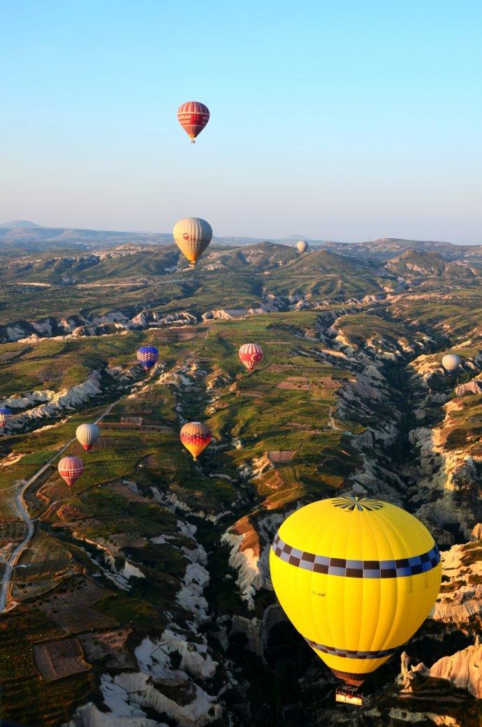 【土耳其】感受梦幻浪漫的热气球之旅