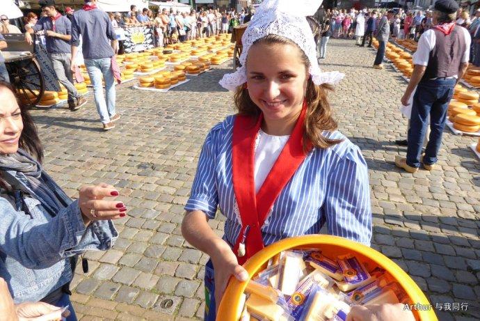 【荷兰 豪达】奶酪节上看民族服装秀 - hubao.an - hubao.an的博客