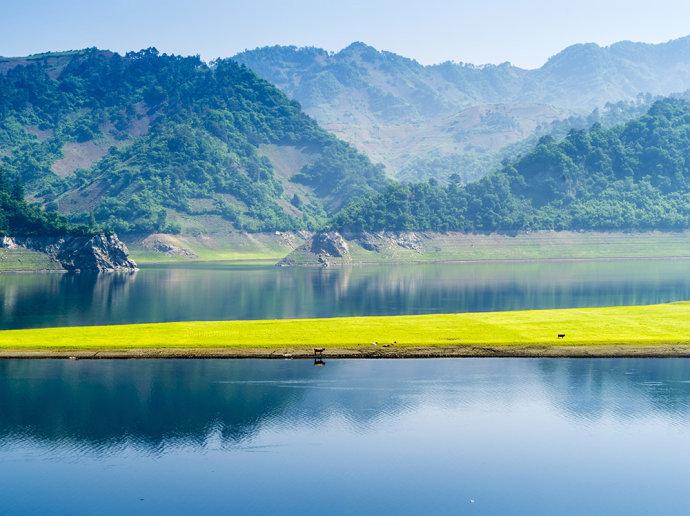 北方的香格里拉在这里-绿江村 - H哥 - H哥的博客