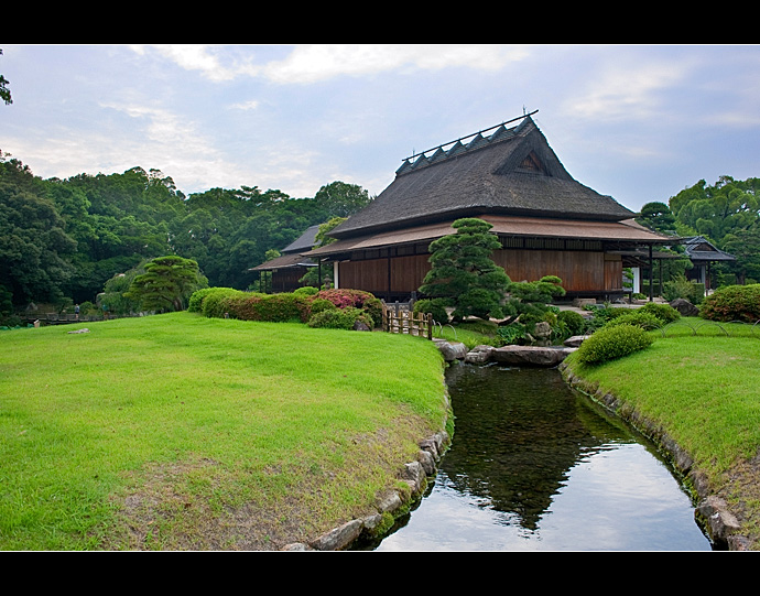 冈山后乐园 山水如画的日本古典园林 - H哥 - H哥的博客