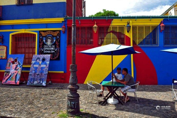 阿根廷博卡区:布宜诺斯艾利斯的七彩老街 - 余昌国 - 我的博客
