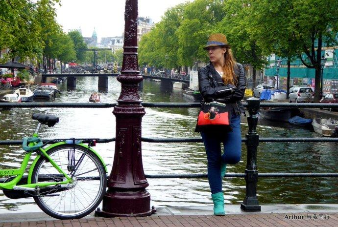 【荷兰】阿姆斯特丹街头怪咖秀 - hubao.an - hubao.an的博客