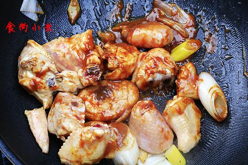 豆瓣酱烧鲜鸡 - 慢美食博客 - 慢美食博客 美食厨房