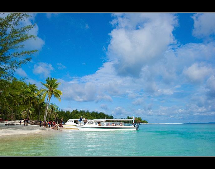 沙巴美人鱼岛 纯净之极的原生态梦幻岛屿