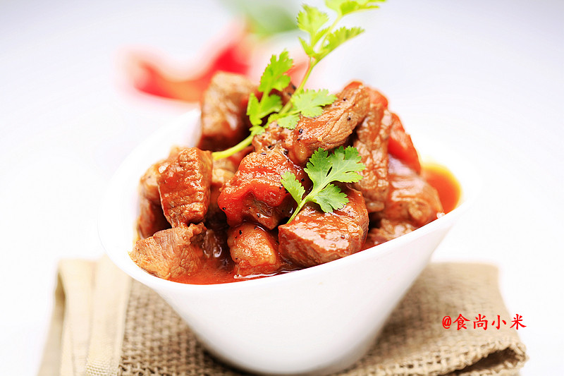 番茄遇上牛肉----一场完美的邂逅 - 慢美食 - 慢 美 食