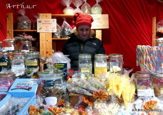 好吃又好看的糖果摊-圣诞来了,圣诞市场逛起来