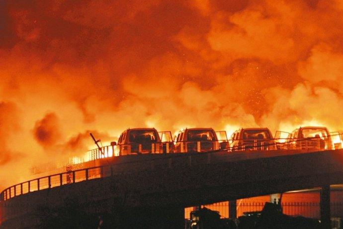 日本消防队员如何看天津火灾 - 悟之诗语 - 梦幻人生 诗意栖息