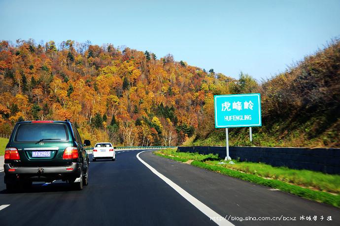 """龙江大地""""66号公路""""的大美绚丽秋色 - H哥 - H哥的博客"""
