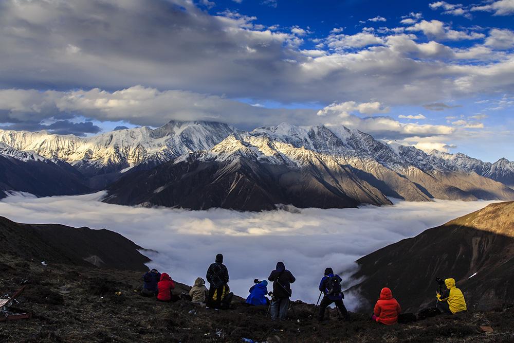 贡嘎雪山的超级观景平台-子梅垭口与里说垭口 - 天神 - 天神的博客