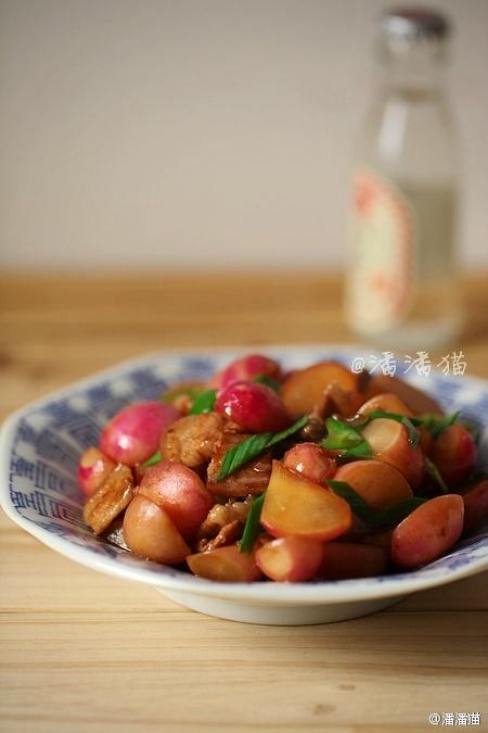 【五花肉烧小萝卜】【炝拌萝卜缨】 - 慢美食博客 - 慢美食博客