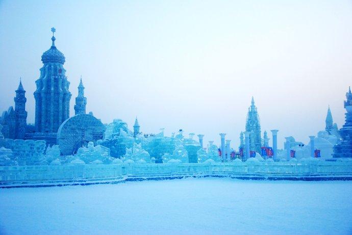 激情东北,走进哈尔滨冰雕天堂 - 海军航空兵 - 海军航空兵