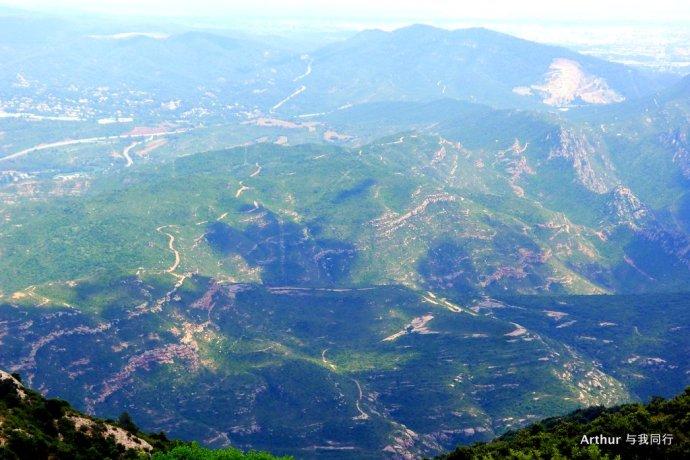 白石山上的基督教圣地