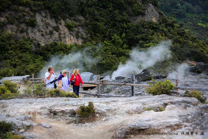 在罗托鲁阿倾听火山的心跳 - H哥 - H哥的博客