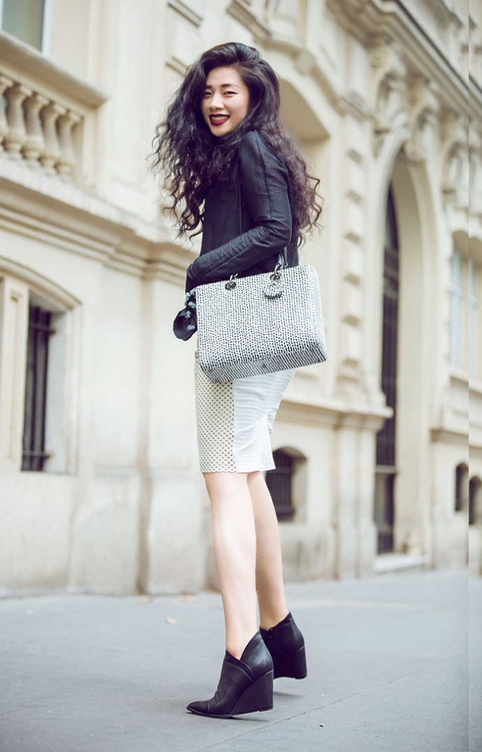 【雌和尚搭配】今年搭配的黑色配比和漆皮元素 - toni雌和尚 - toni 雌和尚的时尚经