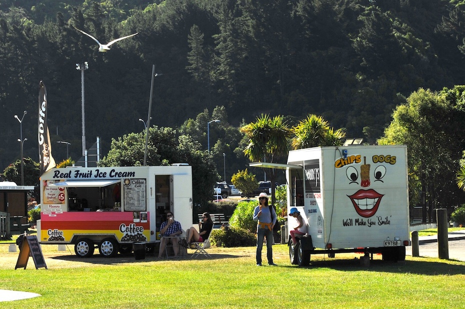 夏洛特女王峡湾边的新西兰风情小镇 - 浪迹天涯 - 浪迹天涯de博客