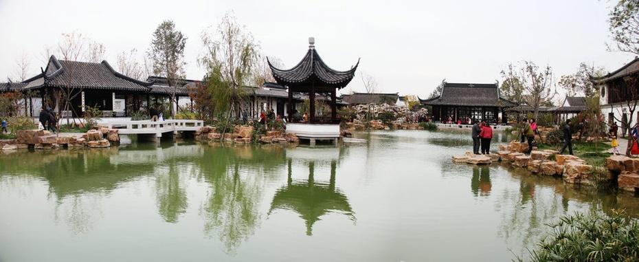 深秋迟游园博园(之三):华夏园林美景涟涟 - 侠义客 - 伊大成 的博客