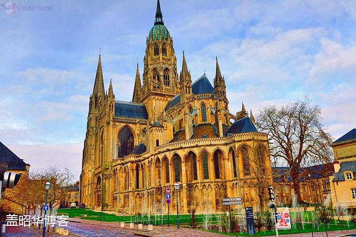 法国小城里的千年英法恩怨 - 盖昭华 - 盖昭华的博客