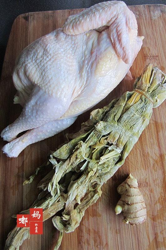 时节解密舌尖2——鲜美无比的笋干炖鸡汤 - 慢美食 - 慢 美 食