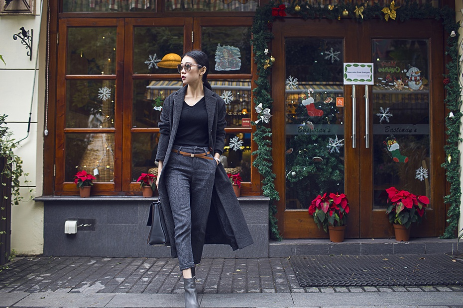 [Ava搭配日记]商务OR休闲,统统hold住! - AvaFoo - Avas Fashion Blog