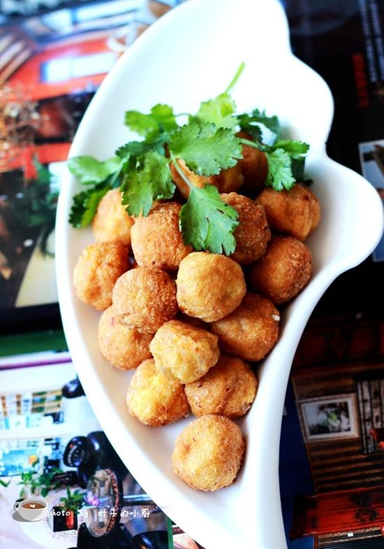 油炸豆腐肉丸 - 叶子的小厨 - 叶子的小厨