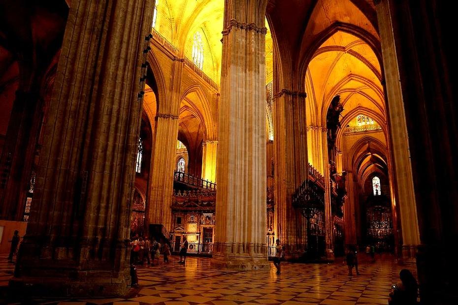欧洲行38:西班牙塞维利亚大教堂 - 余昌国 - 我的博客