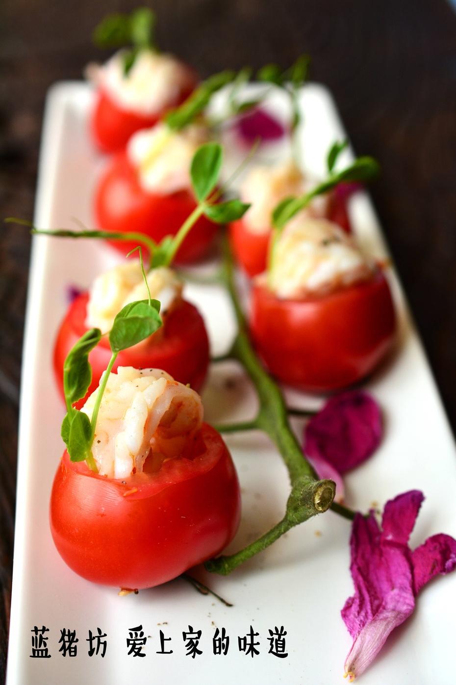当521遇上番茄大虾,它们能碰撞出怎样的火花 - 蓝冰滢 - 蓝猪坊 创意美食工作室