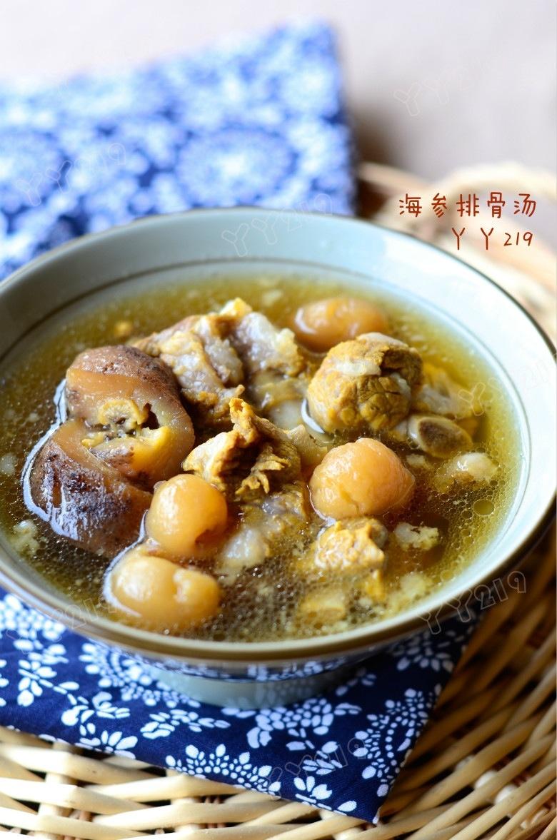 季节交替提高免疫力的鲜汤——【海参排骨汤】 - 慢美食 - 慢 美 食
