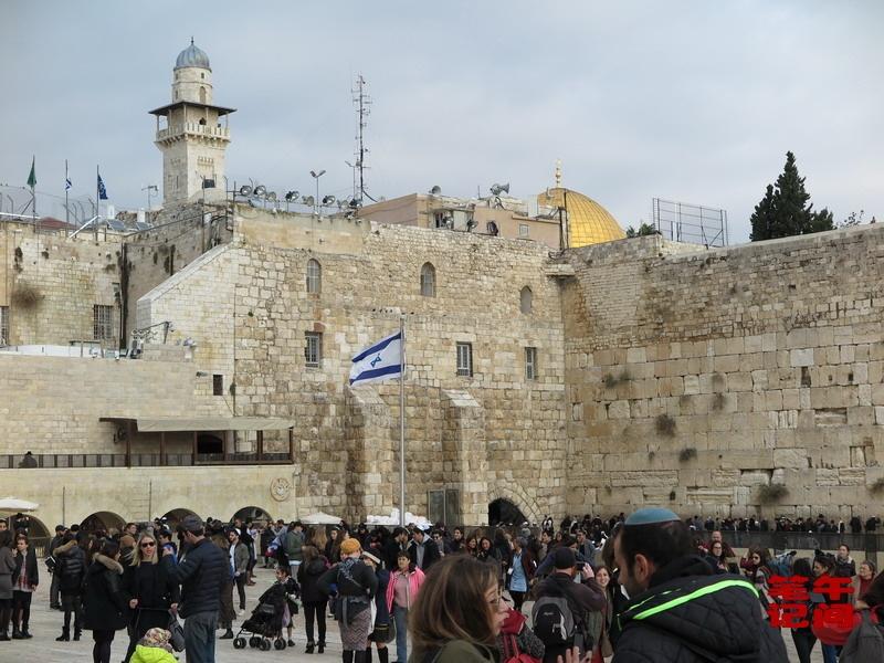 哭泣的西墙--耶路撒冷(1)_图1-3