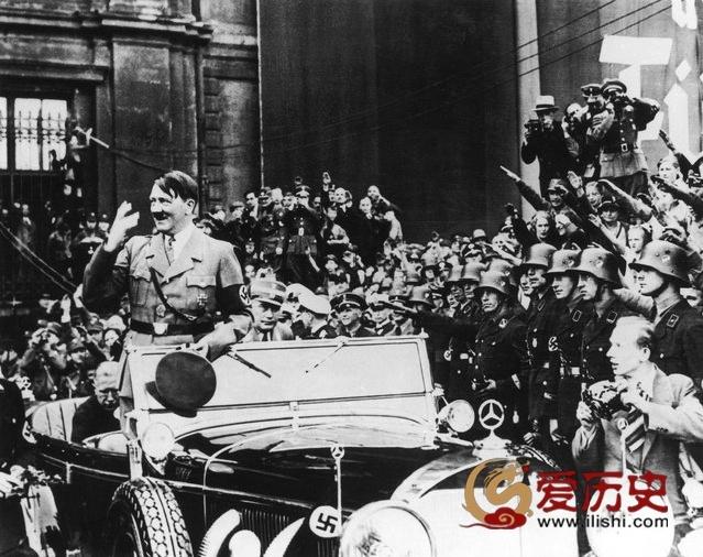 """纳粹庆祝""""五一""""节的真实目的 - 爱历史 - 爱历史---老照片的故事"""