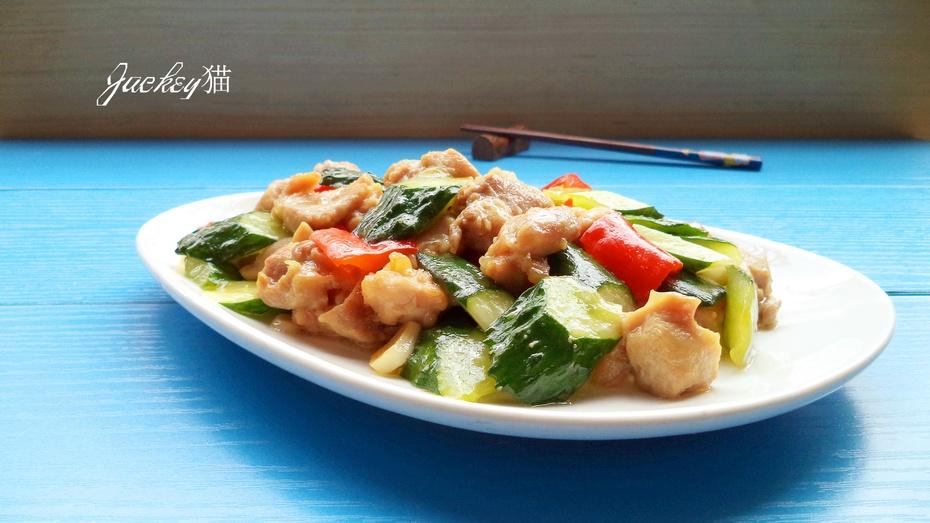 青瓜鸡球 - 慢美食博客 - 慢美食博客 美食厨房