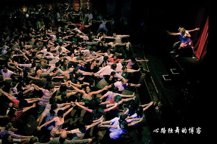 """海外也流行的""""广场舞""""(组图) - 心路独舞 - 心路独舞"""