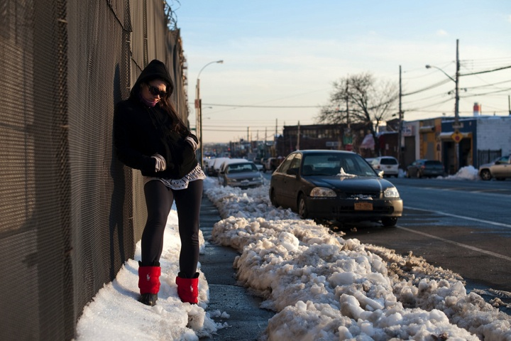 纽约的瘾君子聚集区(图) - 心路独舞 - 心路独舞