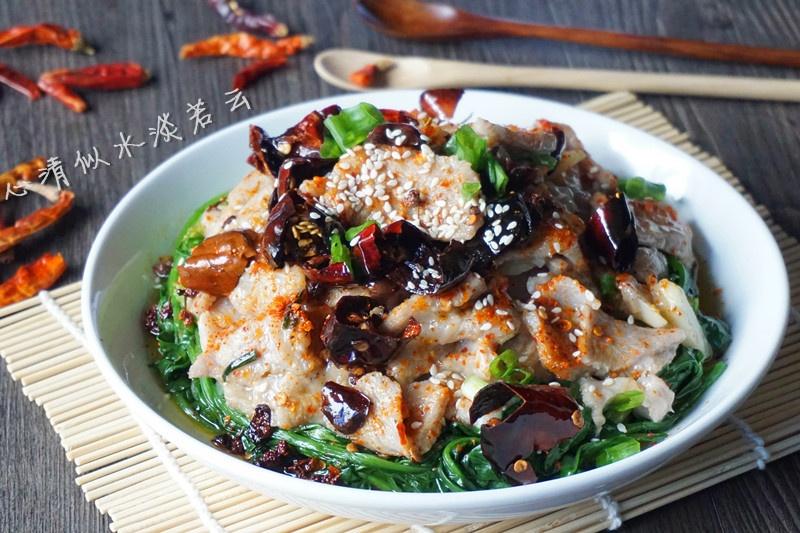 【香辣过江滑肉】美味的创新吃法 - 纸皮核桃 微信 c24628 - 185纸皮核桃的美食博客