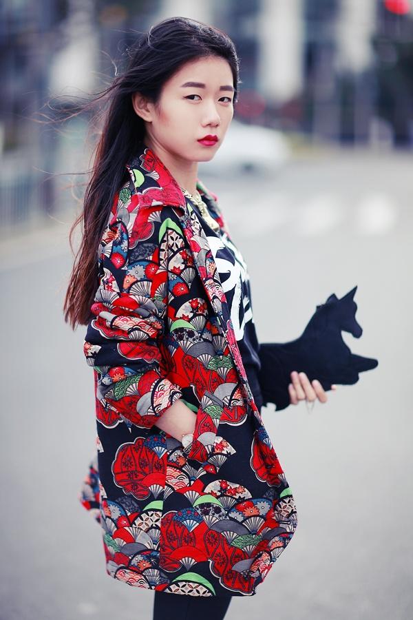 [Ava搭配日记]印花外套的运用 - AvaFoo - Avas Fashion Blog