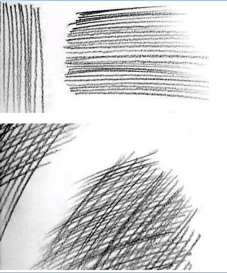 质感,将被画对象更真实表现 线条的美感会直接影响整个画面,不止素描图片