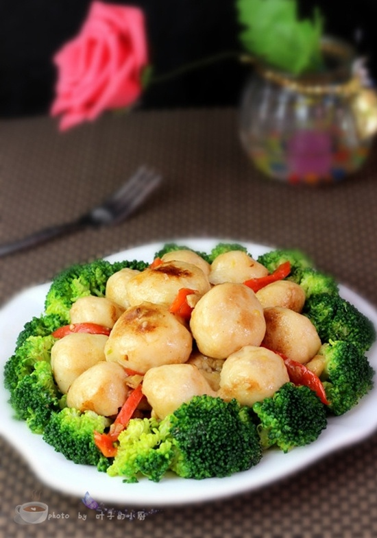 百花鱼糕鱼丸 - 叶子的小厨 - 叶子的小厨