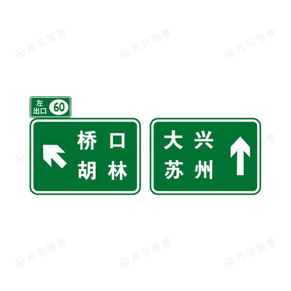 出口地点方向4