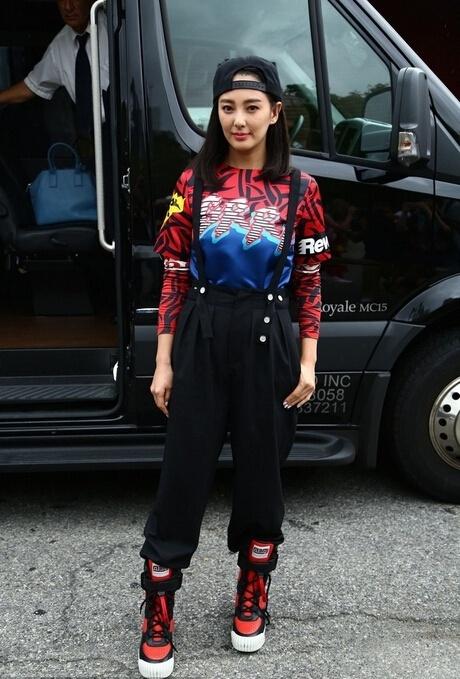 纽约时装周华人女星图集 舒淇高圆圆黑白撞色显默契 - 嘉人marieclaire - 嘉人中文网 官方博客