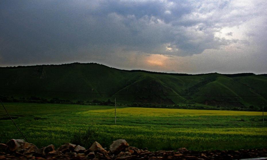 风云变幻阿尔山,蓝天白云鲜花灿烂—暑期东北行之三十三 - 侠义客 - 伊大成 的博客