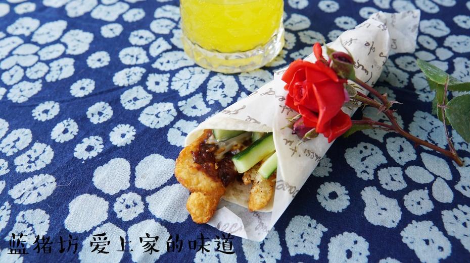 假期最后不开餐,来个鸡肉卷简单干净能吃饱 - 蓝冰滢 - 蓝猪坊 创意美食工作室