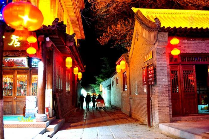 【原创摄影】青州古城观年景6:古城夜景(续) - 古藤新枝 - 古藤的博客