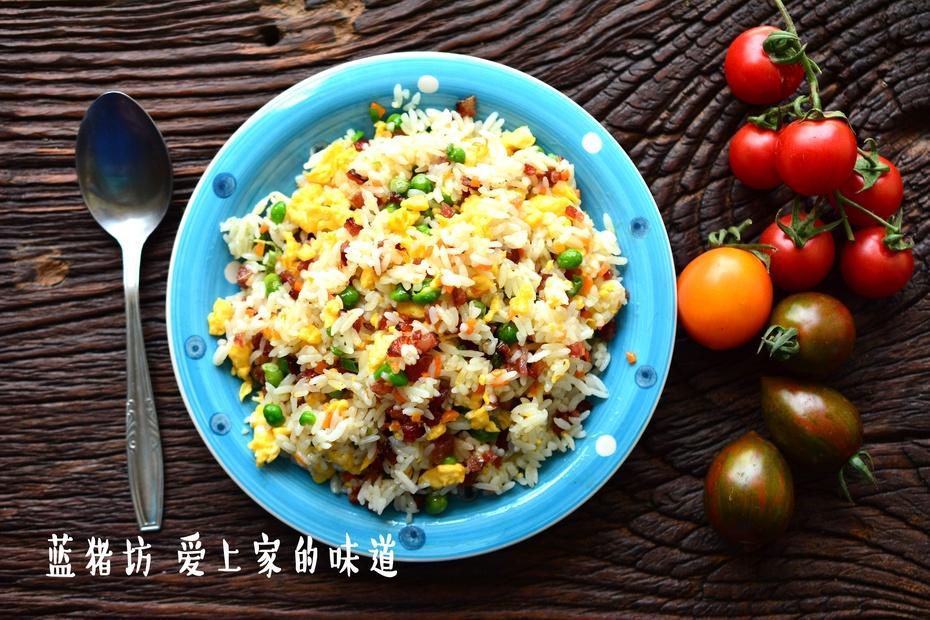 剩米饭的终极拯救办法 - 蓝冰滢 - 蓝猪坊 创意美食工作室