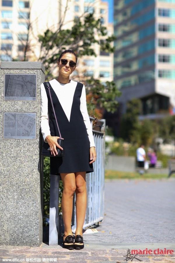 夏天的连衣裙先别急着收 加件打底衫美过你所有秋装 - 嘉人marieclaire - 嘉人中文网 官方博客