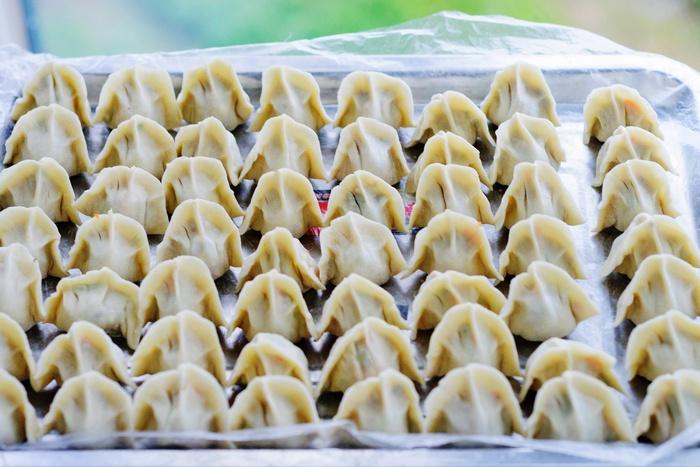 包饺子别放肉了,这样调馅好吃又健康-狼之舞 - 荷塘秀色 - 茶之韵