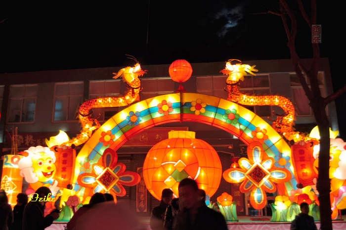 【原创摄影】青州古城观年景7:古街花灯 - 古藤新枝 - 古藤的博客