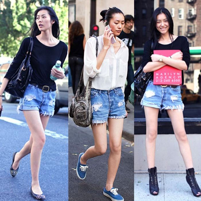 刘雯穿搭大合集-在碰到十元以后开始小女人了 - toni雌和尚 - toni 雌和尚的时尚经