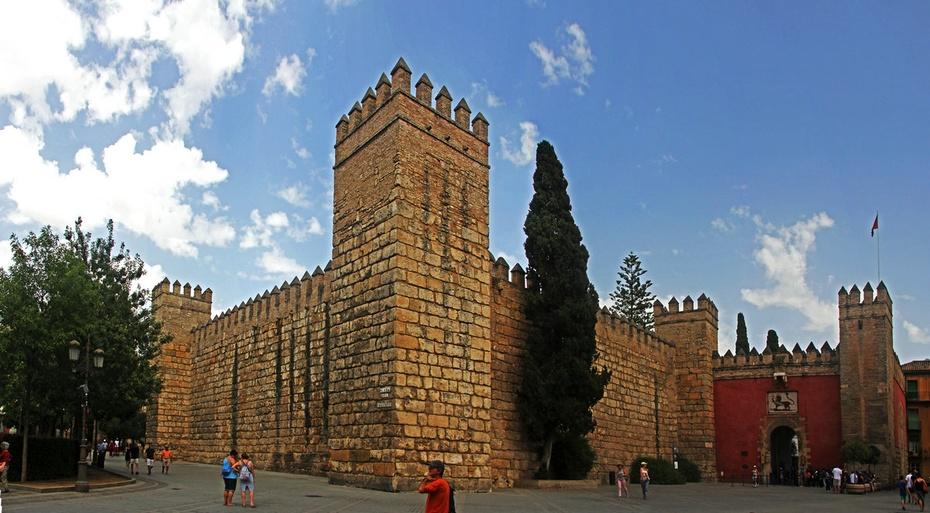 塞维利亚古迹绝佳,古城堡教堂黄金塔--西葡摩直游之六 - 侠义客 - 伊大成 的博客