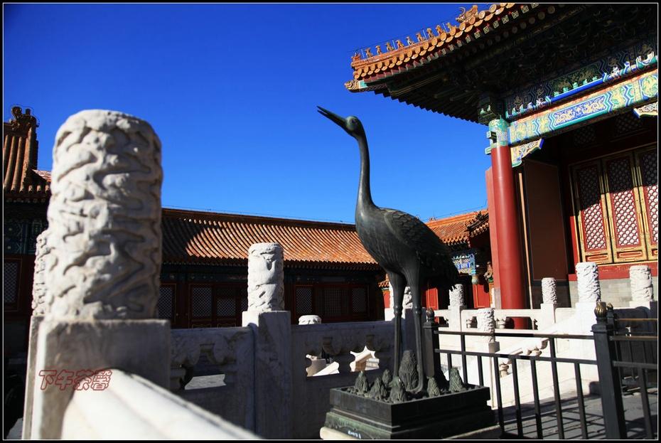 冬日京城故宫 - 下午茶馨 - 下午茶馨网易博客