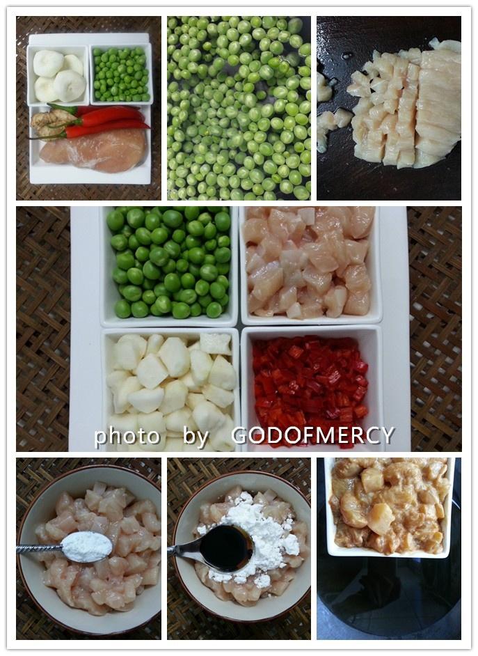 窈窕清凉一夏的美食秘籍--鸡脯肉烩马蹄豌豆 - 慢美食博客 - 慢美食博客 美食厨房