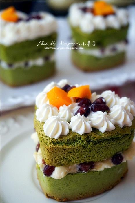 品鉴味觉之美--抹茶榴莲红豆蜜语蛋糕 - 慢美食博客 - 慢美食博客 美食厨房